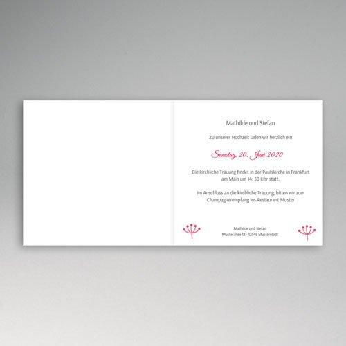 Hochzeitseinladungen modern - Paola Flowers 49068 preview