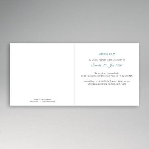 Hochzeitseinladungen modern - Blumen und Blüten 49074 preview