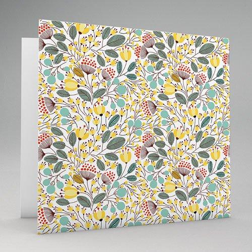 Einladungskarten Hochzeit  - Blumen und Blüten 49075 test