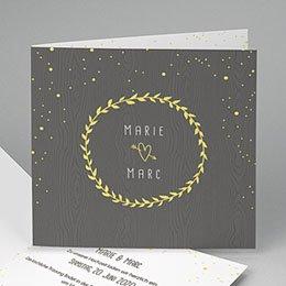 Karten Hochzeit Festlich