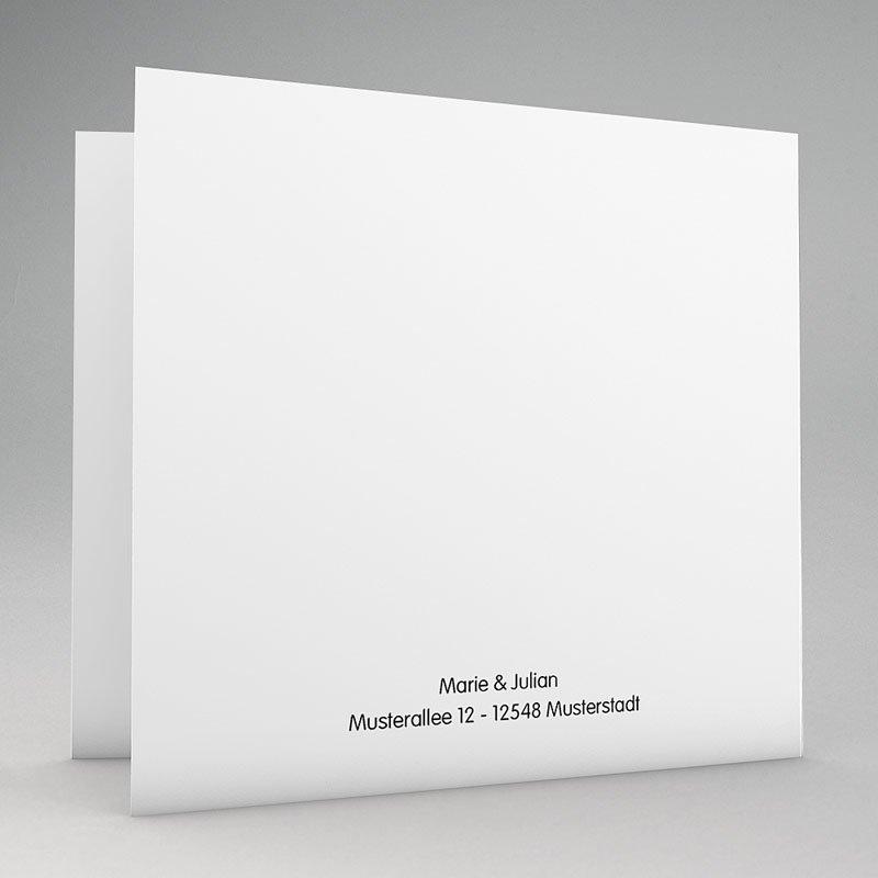 Hochzeitseinladungen Rot-Weiss Motiv Origami gratuit
