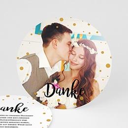 Danksagungskarten Hochzeit Glam