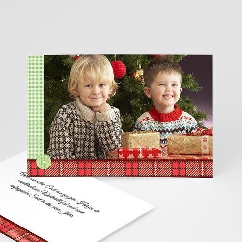 Weihnachtskarten - Weihnachtsherzen 4916