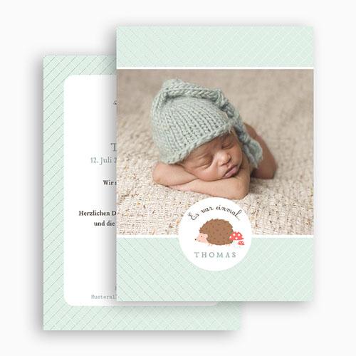 Babykarten für Jungen - Es war einmal... 49187 preview