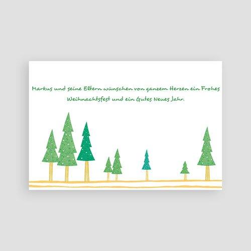 Weihnachtskarten - Stimmungsvolle Schneelandschaft 4925 preview