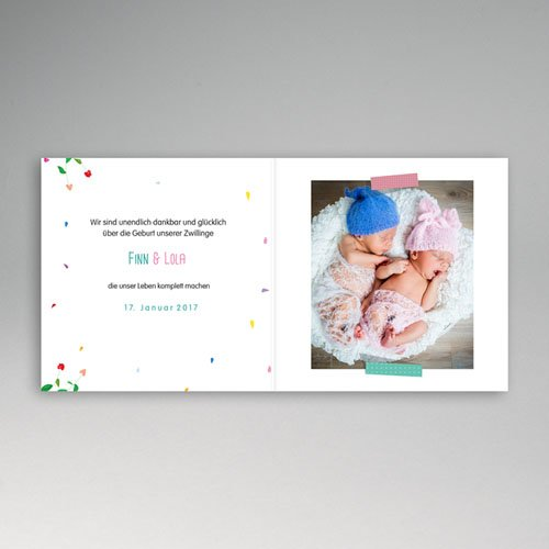 Babykarten für Zwillinge gestalten - Cora 49338 test