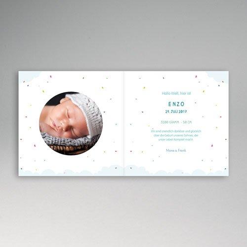 Babykarten für Jungen - Luftballon 49347 preview
