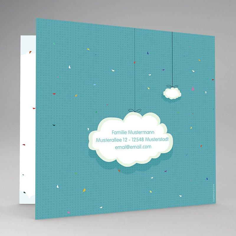 Geburtskarten Luftballon gratuit
