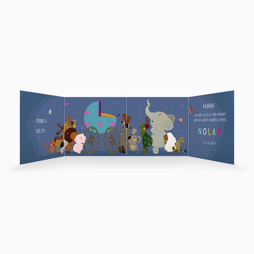 Babykarten für Jungen - Tierfreunde 49365 preview