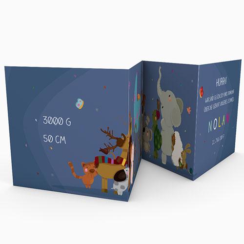 Babykarten für Jungen - Tierfreunde 49366 preview