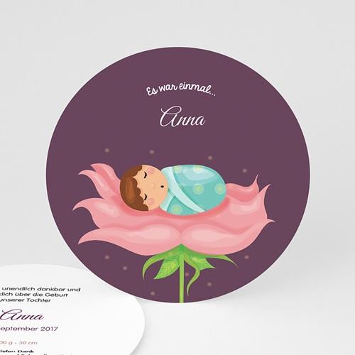 Geburtskarten für Mädchen - Fee 49373
