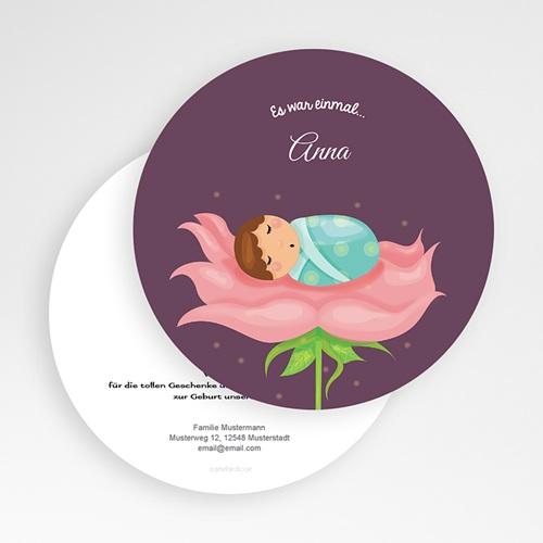 Geburtskarten für Mädchen - Fee 49375 test