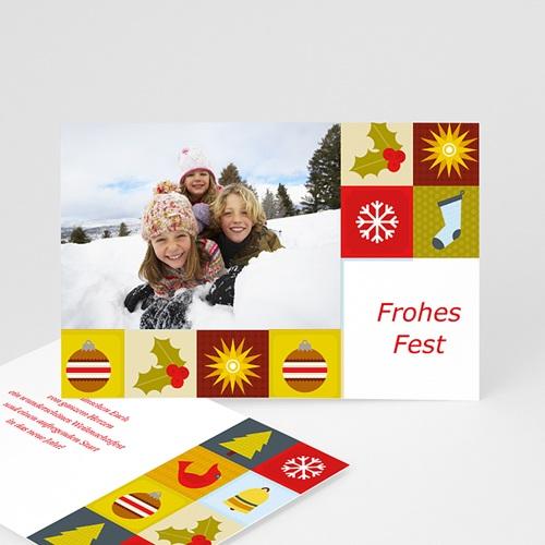 Weihnachtskarten Zauberkugel
