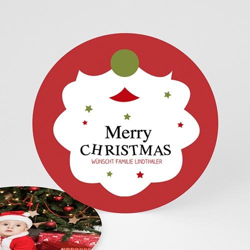 Weihnachtskarten - Weihnachtsbart 49554