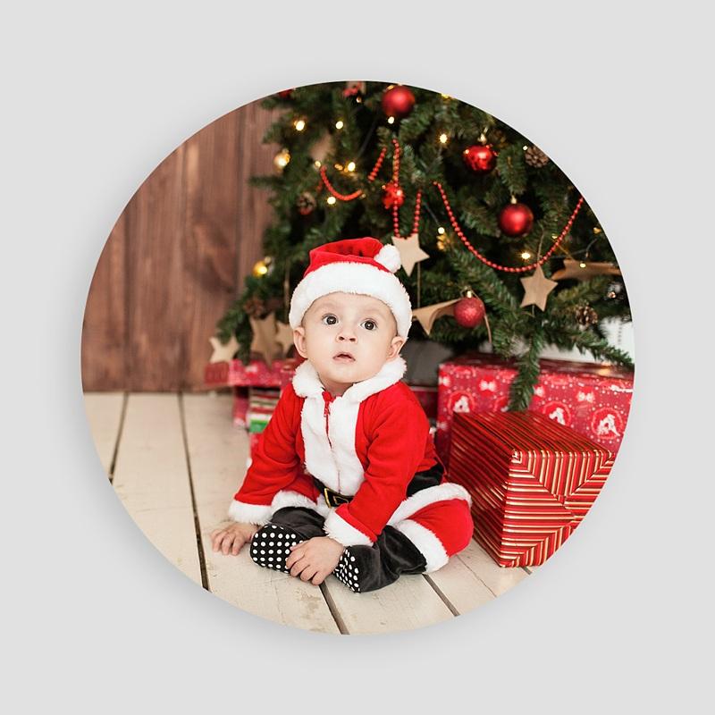 Weihnachtskarten Weihnachtsbart pas cher