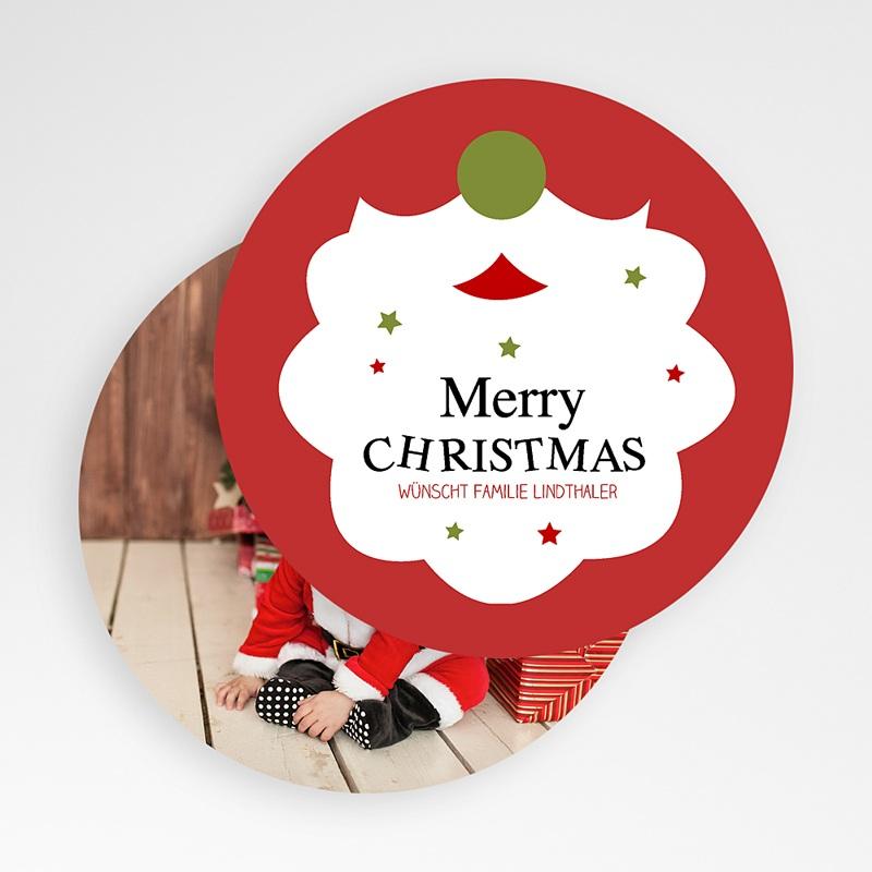 Weihnachtskarten Weihnachtsbart gratuit