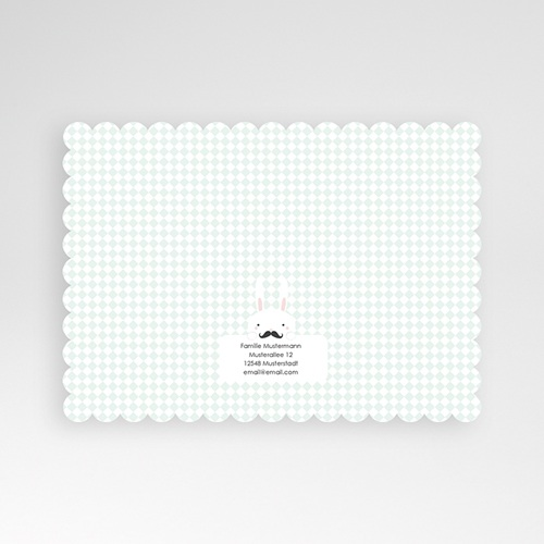 Babykarten für Jungen - Schnurrbart 49559 preview