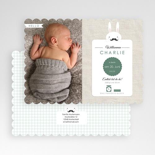 Babykarten für Jungen - Schnurrbart 49560 preview