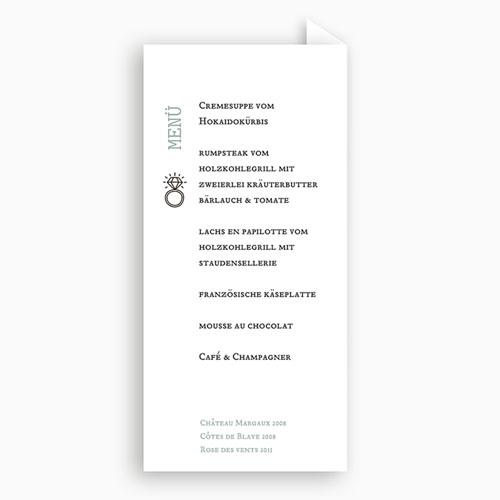 Menükarten Hochzeit - Natur Graphik 49631 preview