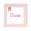 Dankeskarten Geburt Mädchen - Made with Love 49640 thumb