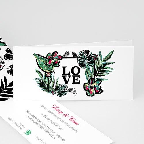 Einladungskarten Hochzeit  - Natur Charme 49731 test