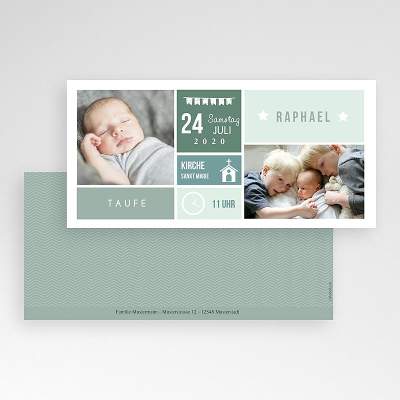 Einladungskarten Taufe Jungen  - Immersion 49851 thumb