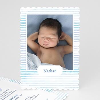 Geburtskarten für Jungen - Kleiner Matrose - 0