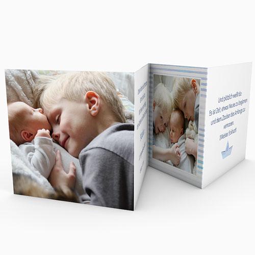 Babykarten für Jungen - Matrosenbaby 49879 preview