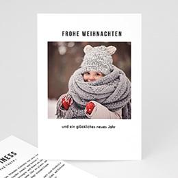 Weihnachtskarten - Happy - 0