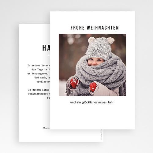 Weihnachtskarten - Happy 49897 test