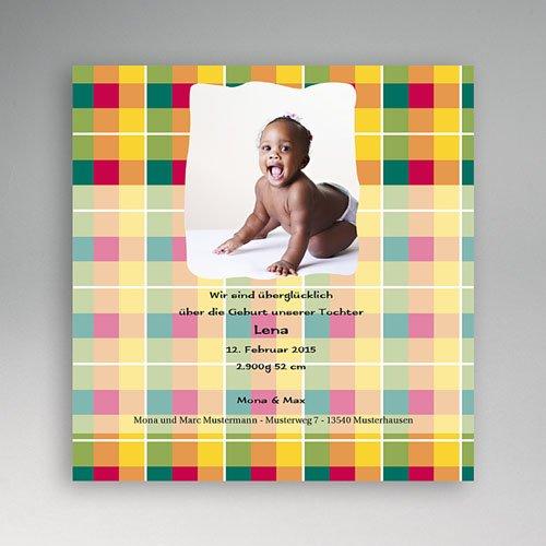 Geburtskarten für Mädchen - Geburtskarte Ony 2 4992