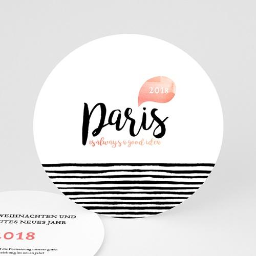 Weihnachtskarten - Paris 49922