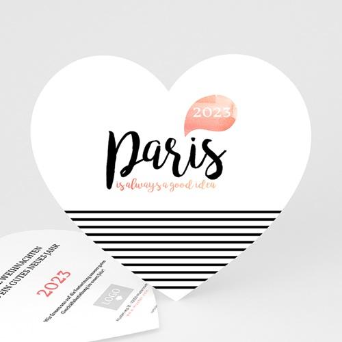 Weihnachtskarten - Christmas Paris 49931