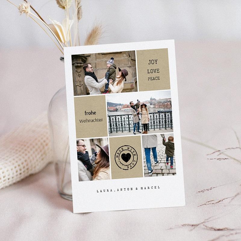Weihnachtskarten - Joy 49967 thumb