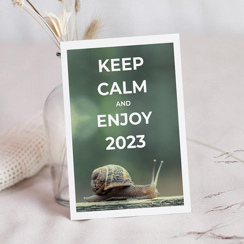 Geschäftliche Weihnachtskarten Keep Calm
