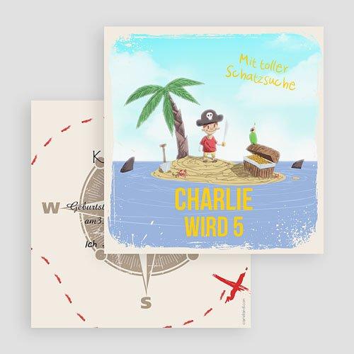 Kind Einladungskarten Geburtstag Pirat gratuit