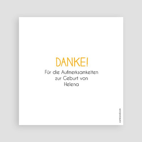 Dankeskarten Geburt - Summer 50075 preview
