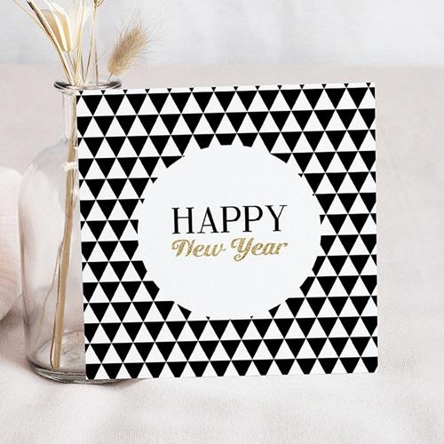 Weihnachtskarten - Black & White 50080