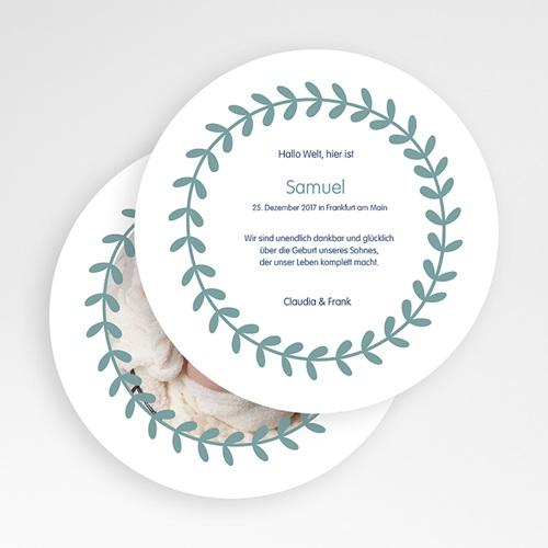 Klassische Geburtskarten online gestalten - Jerome 50102 preview