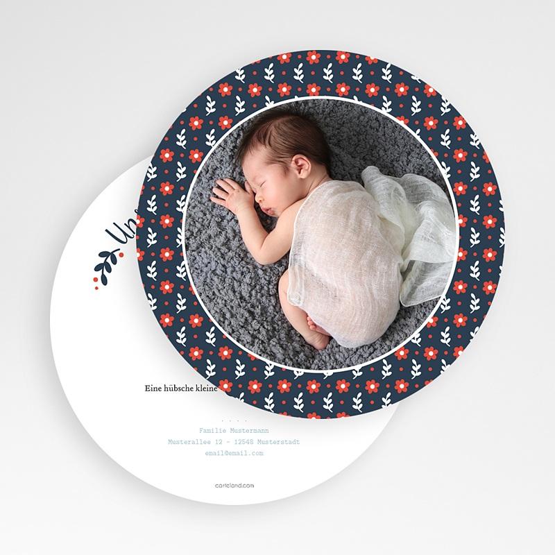 Geburtskarten für Mädchen Blue gratuit