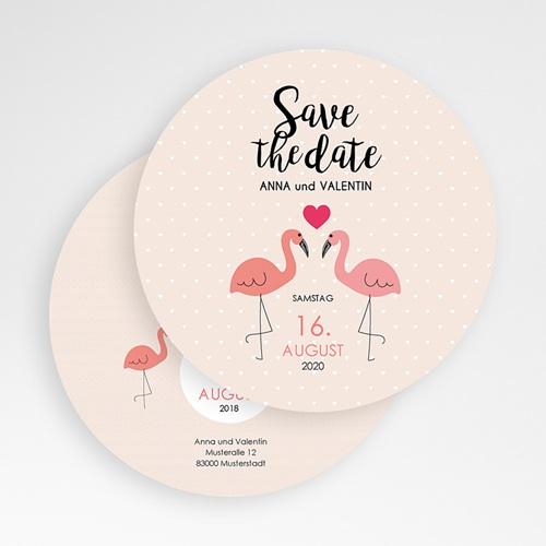 Save The Date  - Flamingos 50142 preview