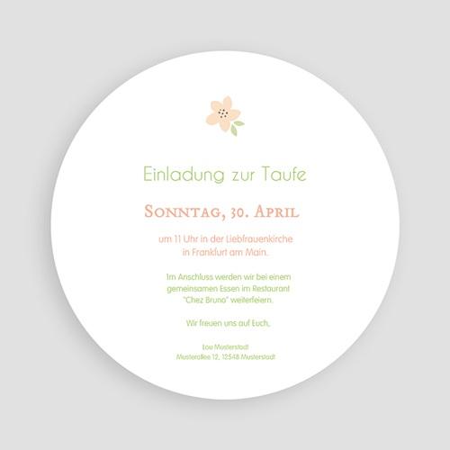 Einladungskarten Taufe Mädchen - Judith 50147 preview