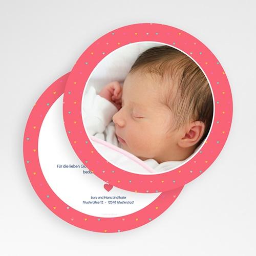 Geburtskarten für Mädchen - Unser Herzchen 50152 thumb