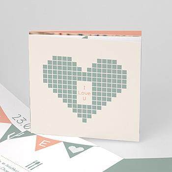 Hochzeitseinladungen modern - Electronic Love - 0