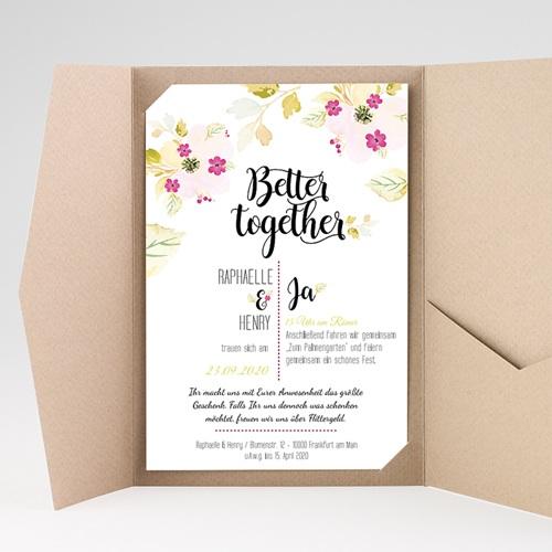 Hochzeitskarten Querformat - Monet 50263 preview