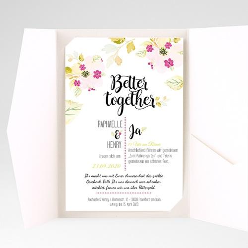 Hochzeitskarten Querformat - Monet 50264 preview