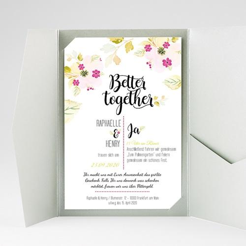 Hochzeitskarten Querformat - Monet 50265 preview