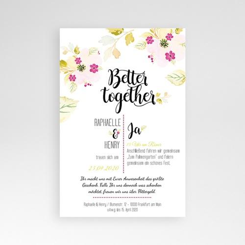 Hochzeitskarten Querformat - Monet 50266 preview