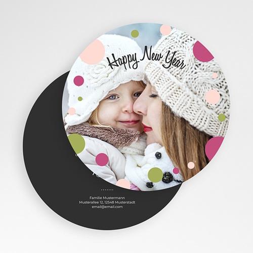 Weihnachtskarten - Glamour und Glitter 50323 test