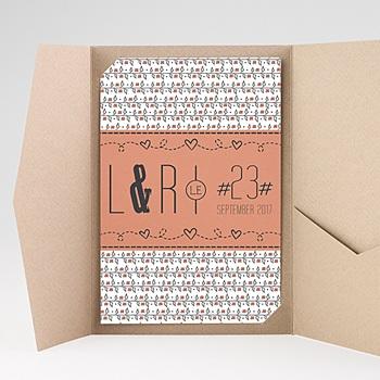 Hochzeitskarten Querformat - Liberty - 0